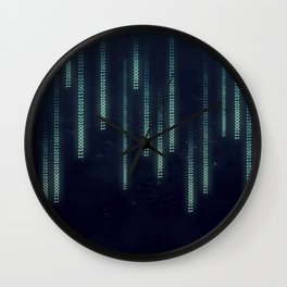 Nerd binary code Wall Clock