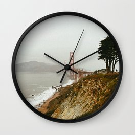 Golden Gate Bridge / San Francisco, California Wall Clock