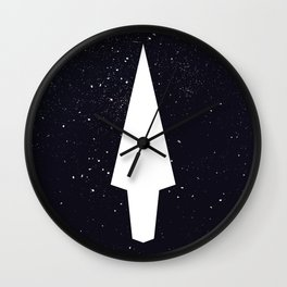 Phonetic Super Destroyer Wall Clock