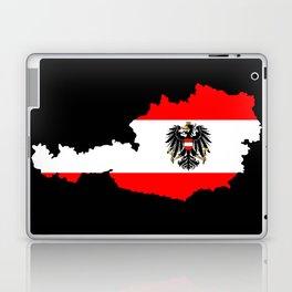 Austrian Flag and Map Laptop & iPad Skin