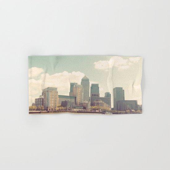London Skyline Hand & Bath Towel