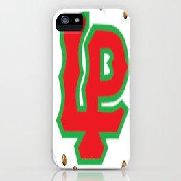 L-P Football iPhone Case