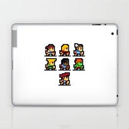 Minimalistic - Street Fighter - Pixel Art Laptop & iPad Skin