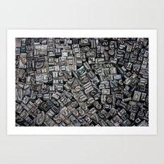 Letters, Letters, Letters Art Print