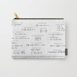 High-Math Inspiration 01 - Black Carry-All Pouch