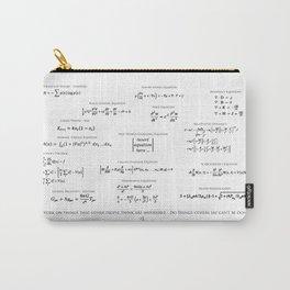 High-Math Inspiration 01 - Black Carry-All Pouch