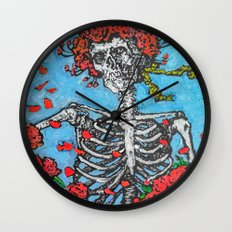 Garden of Eternity Wall Clock