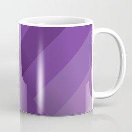 Stripes (purple) Coffee Mug