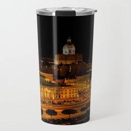 Lisbon by night Travel Mug