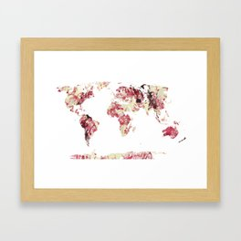 CHAOS WORLD Framed Art Print