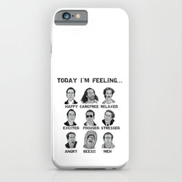 Nicholas Cage - Today I'm Feeling iPhone Case