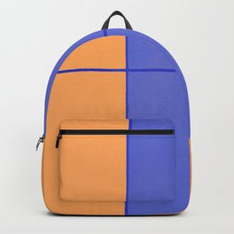 August - Orange and Blue Backpack