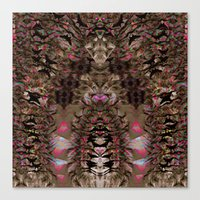 africa Canvas Prints featuring AFRICA  by SaRai