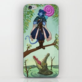 Haunted Nein 1 iPhone Skin