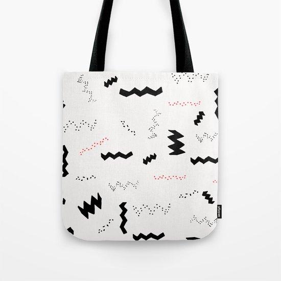 Graphic 8 Tote Bag