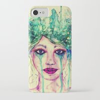 goddess iPhone & iPod Cases featuring Goddess by Misrella