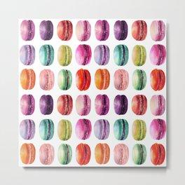 macaron lollipops Metal Print