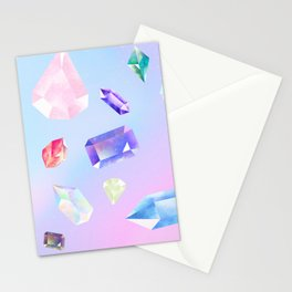 precious stones Stationery Cards
