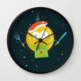 Sun Chef Wall Clock