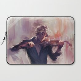 Violin and James Carstairs Laptop Sleeve