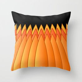 Pumpkin Crown Throw Pillow
