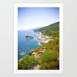 Corse 1.3 Art Print