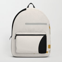 Modern Minimal Abstract Backpack