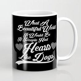 Heart like Dogs (white) Coffee Mug