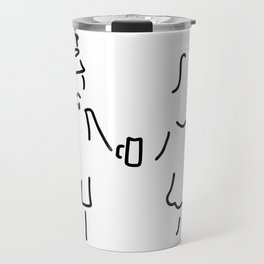 German Germany to Bavarians dirndl Travel Mug