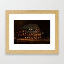 Colosseum, Rome Framed Art Print
