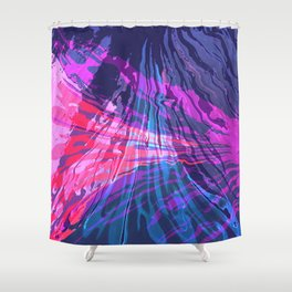 Fog on a Chilly Fall Night Shower Curtain