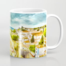 Obidos, small and authentic fortified town in Portugal Coffee Mug