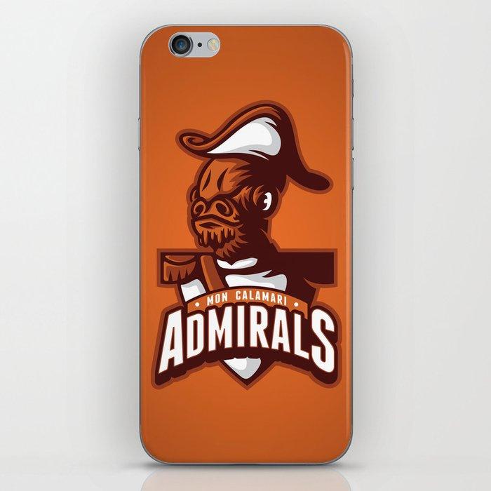 Mon Calamari Admirals on Orange iPhone Skin