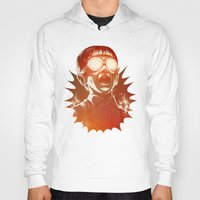 hearts Hoodies featuring FIREEE! by Dr. Lukas Brezak