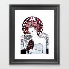 Baykus ve Ben Framed Art Print