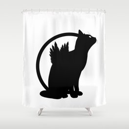 catwings Shower Curtain