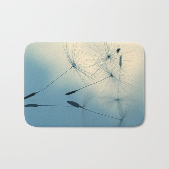 dandelion - cloud nine Bath Mat