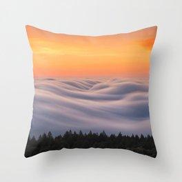 Mount Tamalpais State Park in California USA Throw Pillow