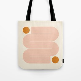 Abstraction_SUN_LINE_ART_Minimalism_002 Tote Bag