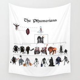 The Pthumerians Wall Tapestry