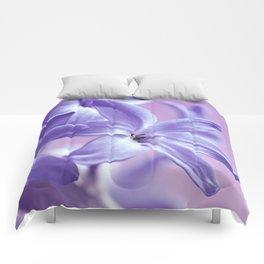 Hyacinth violet 064 Comforters