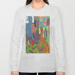 Through the Concrete Long Sleeve T-shirt
