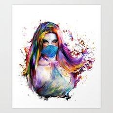 Ki Art Print