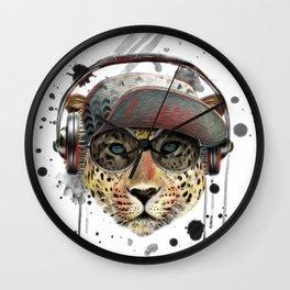 Cool Tiger Wall Clock