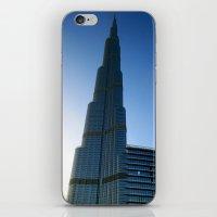 wiz khalifa iPhone & iPod Skins featuring Dubai - Burj Al Khalifa by gdesai