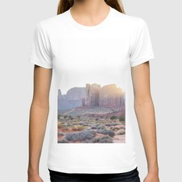 Monument Valley at Sunset T-shirt