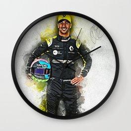 Daniel Ricciardo driver Wall Clock