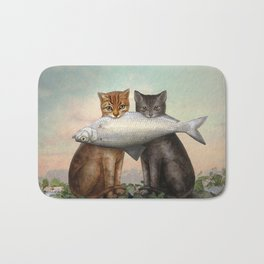 Enjoy Your Dinner Bath Mat