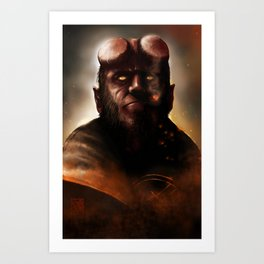 THE BOY FROM HELL Art Print