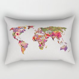 It's Your World Rectangular Pillow